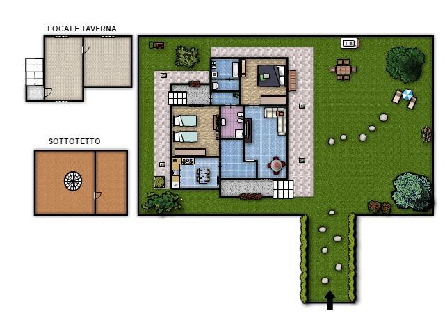 Planimetria casa 100 mq progetto casa mq con progetto mq for Planimetrie della casetta con seminterrato di sciopero