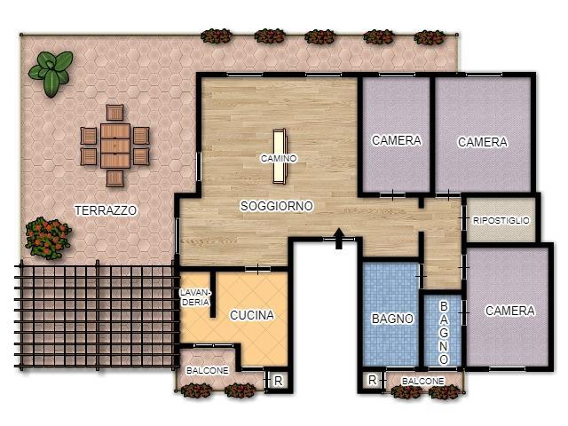 Appartamento In Condominio Di 4 Locali A Cinisello Balsamo Di 150 Mq