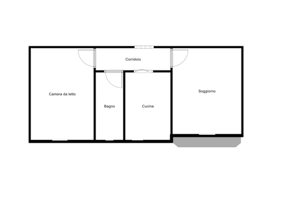 Appartamento in condominio di 2 locali CUSANO MILANINO di 58 mq