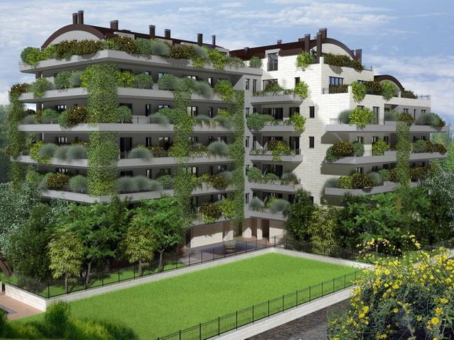 Case di nuova costruzione e cantieri a bresso zona for Palazzine moderne