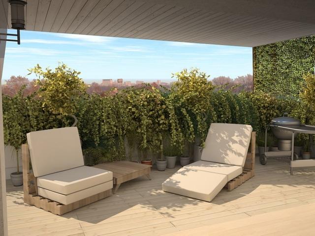 Case di nuova costruzione e cantieri a bresso zona for Accessori per terrazzi e giardini